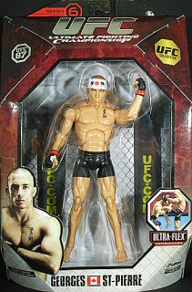 GEORGES ST PIERRE   UFC DELUXE 6 JAKKS TOY MMA ACTION FIGURE