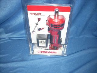 TROY BILT JUMPSTART 12V LITHIUM ION ENGINE STARTER GAS GRASS TRIMMER