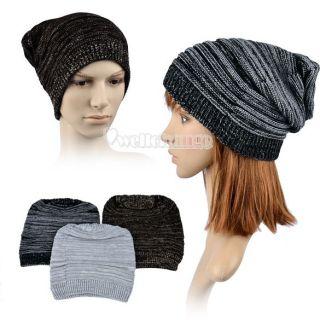 W3LE Winter Warm Men Women Unisex Knitting Ski Slouch Oversized Beanie