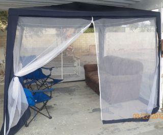 Fully Enclosed Mosquito Net Gazebo 10x10