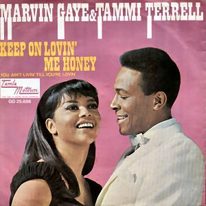 MARVIN GAYE & TAMMI TERRELL Aint Nothin 1967 HOLLAND+ ps MOTOWN