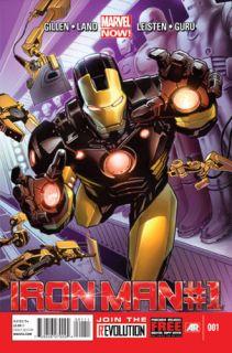 Iron Man 1 Marvel Comics Now