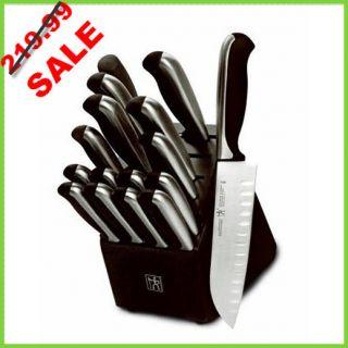 17 PC Ja Henckels German Cutlery J A Kitchen Knife 14 3 Piece Knives w