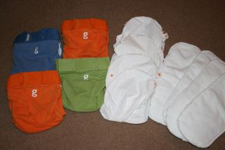 gDiapers G Diaper Cover Liners and Cloth Inserts Medium