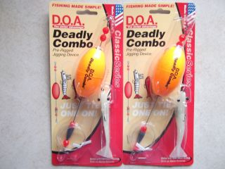 DOA Shrimp 2 Nite Glow Deadly Combos Oval Float