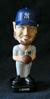 Jason Giambi Mini Bobble Head NY Yankees Baseball 2002 KF Holdings