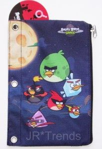 Angry Birds Space Pencil Case Pouch School Supplies Back to School New