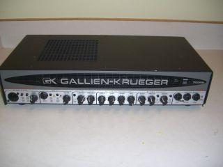 Gallien Krueger GK 700RB Mark II 480W 50W Amp Bass Amplifier Head