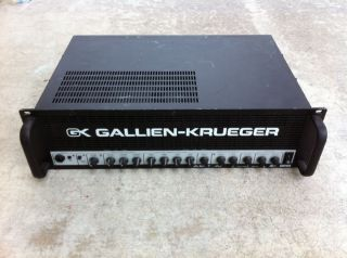 GALLIEN KRUEGER 2000RB GK 1000 watt bass amp head USED 2000 RB 700