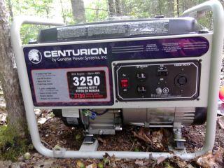Centurion by Generac Power Systems 3250 Watts gasoline generator 120v