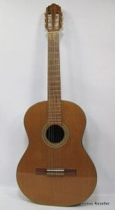 Giannini Serie 1900 Classical Acoustic Guitar RARE w Gig Bag Case