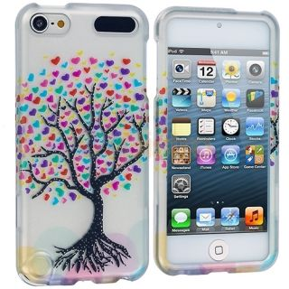 Love Tree Hearts Design Case Skin Cover for iPod Touch 5th Generation