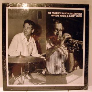 Mosaic 7 CD Set Capitol Recordings of Gene Krupa & Harry James  SEALED