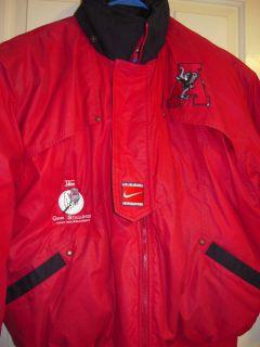 Nike Alabama Coat Crimson from Gene Stallings Golf Tournament Sz Large