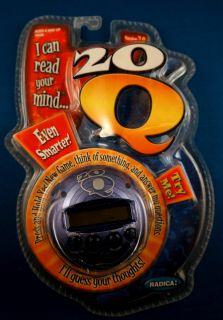 Electronic Handheld Video LCD Game 20Q 20 Q Trivia Answer
