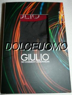 NEW men GIULIO SPAIN S SMALL 44 BOXER BRIEF UNDERWEAR 90% NYLON 10%