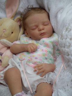 Baby Sunshine Nursery Reborn Baby Girl Doll Tanya by Gudrun Legler