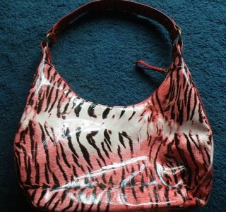 ChEeTaH LeOpArD TiGeR AniMaL Print Shiny Purse Handbag Pocket Book
