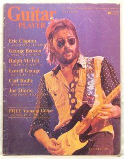 Guitar Player Magazine Eric Clapton George Benson RARE
