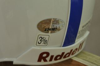 Johnny Unitas and Gino Marchetti Indianapolis Colts Signed Min Helmet