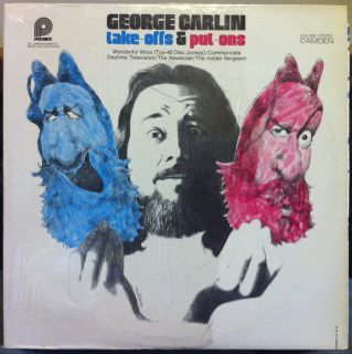 george carlin take offs put ons label pickwick camden records format