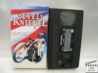 Evel Knievel VHS TNT Original George Eads Jamie Pressly