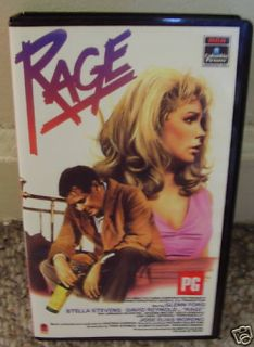 Rage Glenn Ford Stella Stevens 1966 VHS