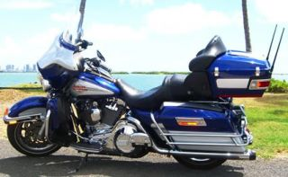 2006 Harley Davidson Touring Ultra Classic Electra Glide FLHTCUI.