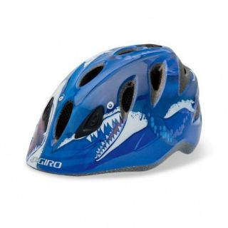 Giro Rascal Blue Sharks Helmet Kids Helmet Uni Child