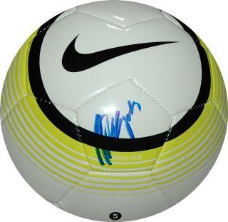 Alex Morgan Autographed Nike Soccer Ball Team USA Signed Olympics Gold