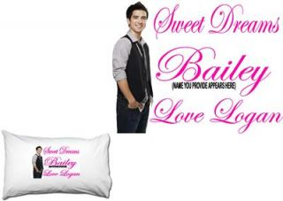 Logan Henderson Big Time Rush Personalized Pillowcase