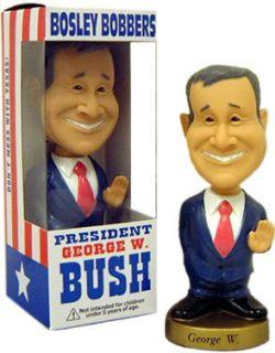President George w Bush Bobble Head Doll