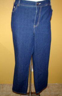 Gloria Vanderbilt Amanda Sz 16W Stretch Jeans Classic Fit Denim
