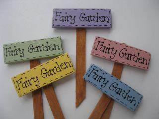 Fairy Garden Secret Garden Miniature Garden Moms Garden signs