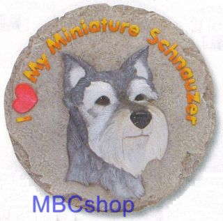 Dog Breeds Resin Yard Garden Stepping Stones Home Decor Wall Plaques