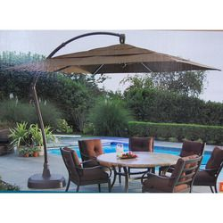 Costco Square Cantilever Umbrella Replacement Canopy