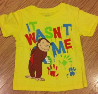 Curious George T shirt 3T NEW