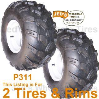 18x9 50 8 18 9 50 8 Golf Cart Go Kart Tires Rims Wheel 4ply Replace
