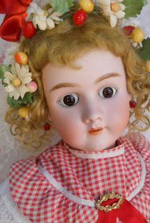 34 Simon & Halbig / Handwerck Antique German Doll, Large & Sweet