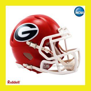 Georgia Bulldogs Official NCAA Mini Speed Football Helmet by Riddell