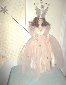 Franklin Mint Wizard of oz Glinda The Good Witch Doll