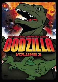 Godzilla The Original Animated Series Volume 2 New SEALED DVD