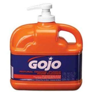 GoJo 0958 Low Profile 1/2 Gallon w/ Pump Dispenser GOJO NATURAL ORANGE