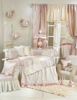 Glenna Jean Victoria 8 PC Crib Baby Bedding Set New