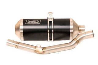 Derbi GPR125 4T Giannelli Exhaust Silencer Kit