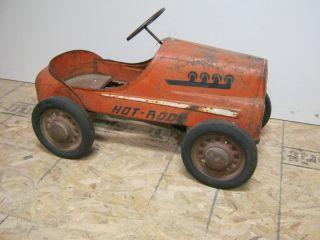 Original Garton Hot Rod Pedal Car
