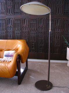 Gerald Thurston Lightolier Mid Century Modern Floor Lamp Madmen Era