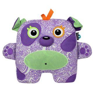 Inkoos Glo Glo Glow in The Dark Pet Plush Purple Dog