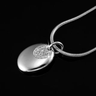 Swarovski Elements Oval Pendant Necklace RRP $79 Jewellery