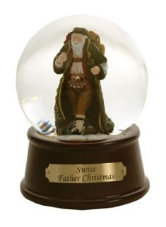 Pipka Swiss Father Christmas Snow Globe Water Globe